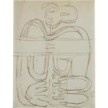 LE CORBUSIER - Untitled, 1944
