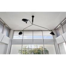SERGE MOUILLE - Three-armed ceiling light with