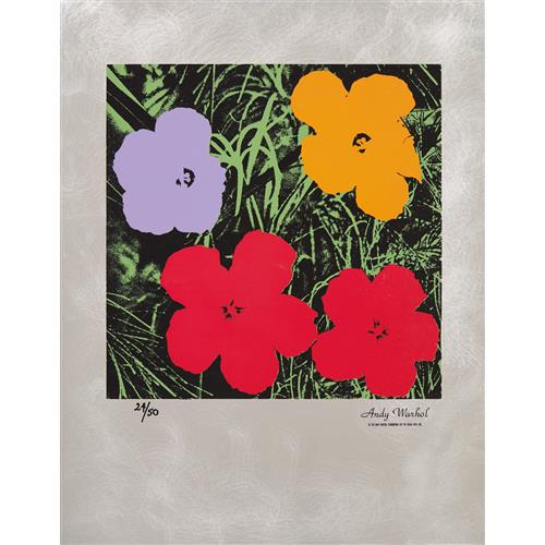 ANDY WARHOL - Flowers: Master American Contemporaries, 1994
