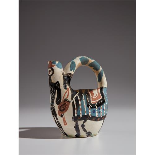 PABLO PICASSO - Rider and Horse (Cavalier et cheval), 1952