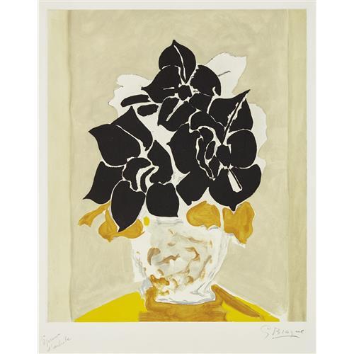 GEORGES BRAQUE - Les amaryllis, 1958