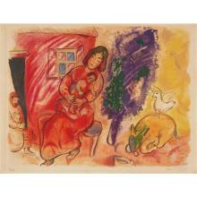 AFTER MARC CHAGALL - Maternité (Maternity), 1954