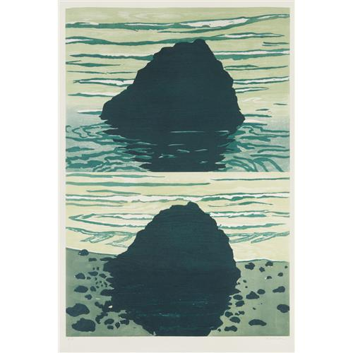 RICHARD BOSMAN - High Tide/Low Tide, 1990