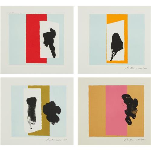 ROBERT MOTHERWELL - The Berggruen Series, 1980