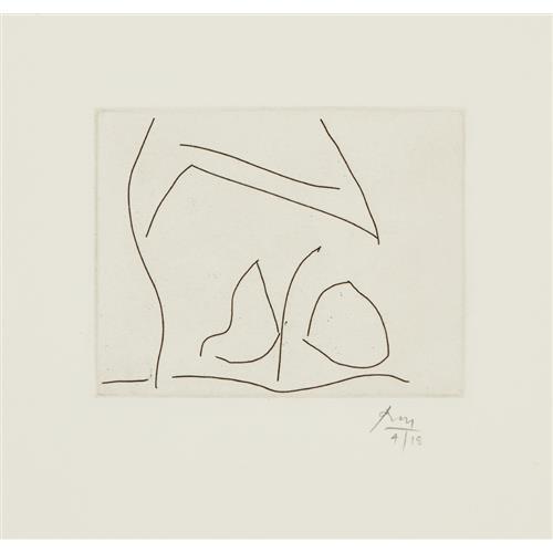 ROBERT MOTHERWELL - L'Amour, 1984