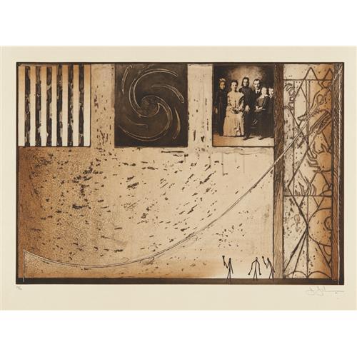 JASPER JOHNS - Untitled, 2001