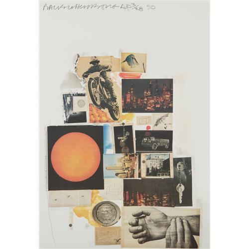 ROBERT RAUSCHENBERG - Untitled (Whitney exhibition), 1990