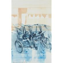 ROBERT RAUSCHENBERG - Dream Cycle, from Ground Rules, 1997