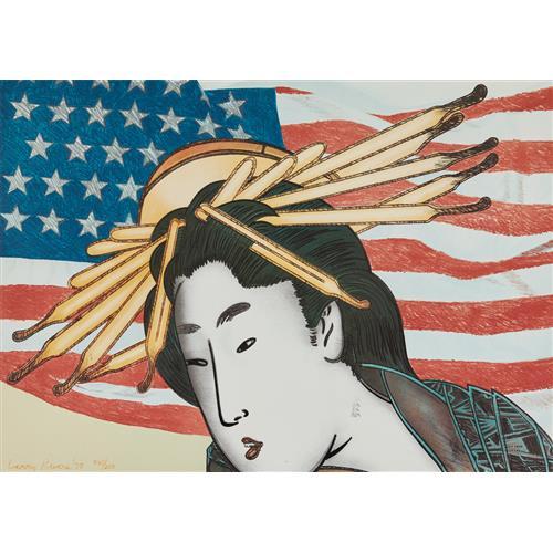 LARRY RIVERS - Madame Butterfly, from Metropolitan Opera Fine Art, 1978