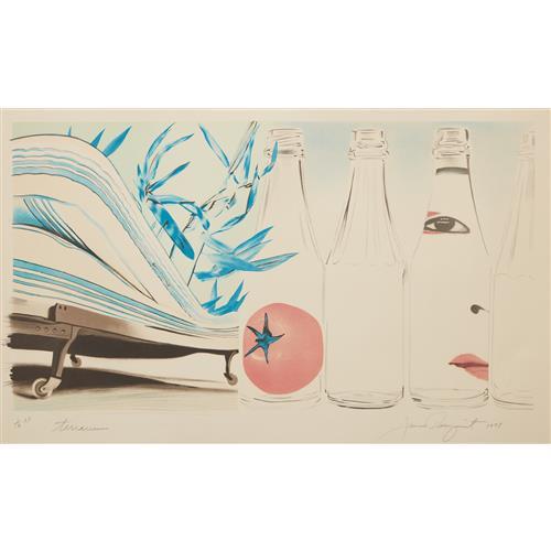 JAMES ROSENQUIST - Terrarium, 1978