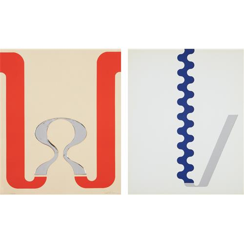 GERALD LAING - Compact, from 11 Pop Artists, Volume I; and Slide, from 11 Pop Artists, Volume II, 1965-66