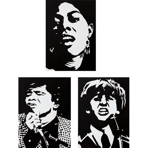 ROBERT STANLEY - Dionne Warwick; James Brown; and Ringo, 1965