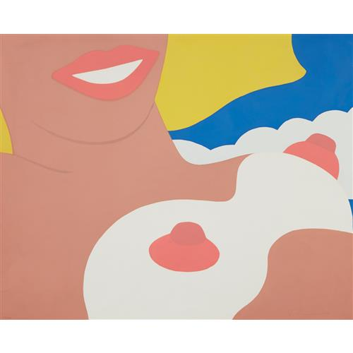 TOM WESSELMANN - Nude, from 11 Pop Artists, Volume II, 1965