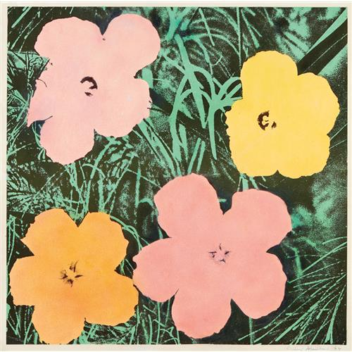 ANDY WARHOL - Flowers, 1964