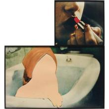 JOHN BALDESSARI - Transform (Lipstick), 1990