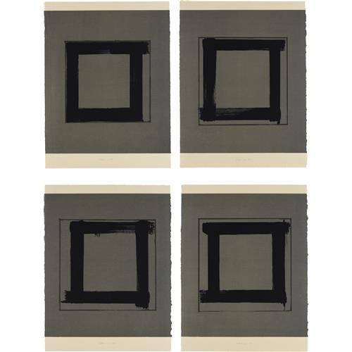 BRICE MARDEN - 1; 2; 3; and 4, 1983