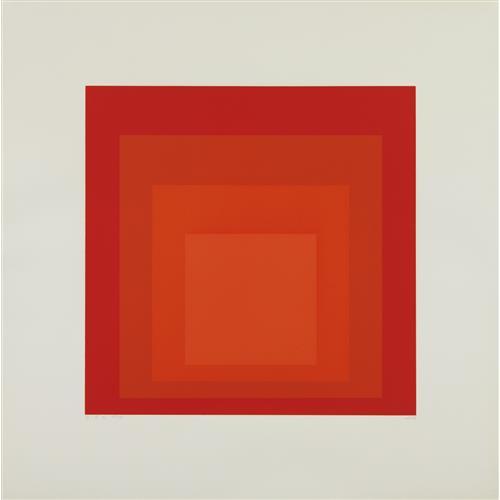 JOSEF ALBERS - I-S a, 1968