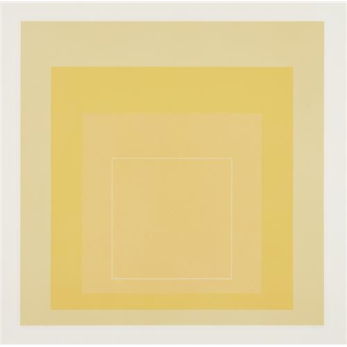 JOSEF ALBERS - WLS I, from White Line Squares (Series I), 1966