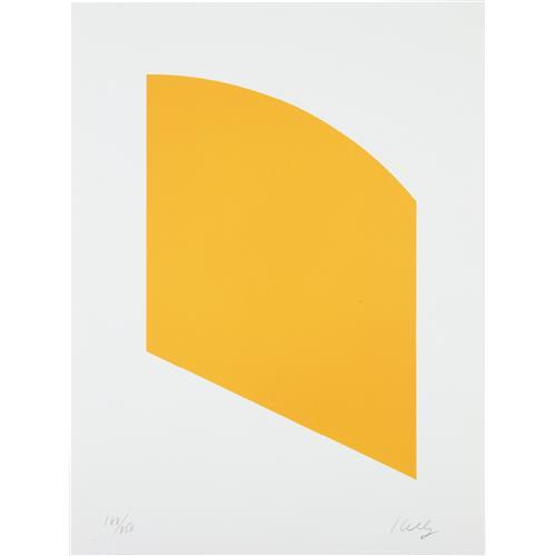 ELLSWORTH KELLY - Orange, 2004