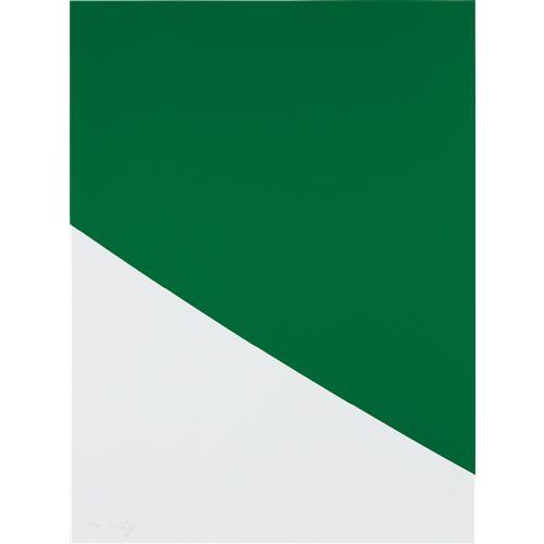 ELLSWORTH KELLY - Green Curve, 2000