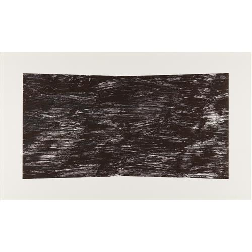 ELLSWORTH KELLY - Black (Texture), 2001