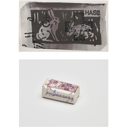 JOSEPH BEUYS - Hasenzucker (Hare Sugar), 1972