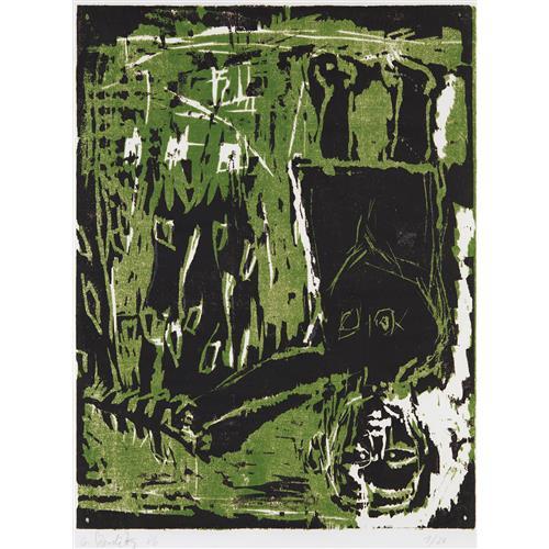 GEORG BASELITZ - Untitled, 1986