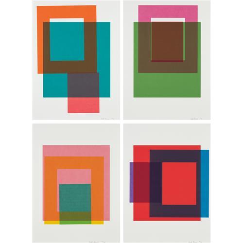MATT CONNORS - Portfolio of Four Prints, 2016