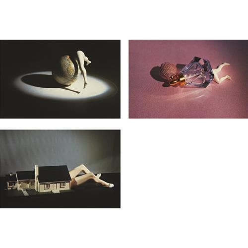 LAURIE SIMMONS - Lying Objects: three plates, 2012