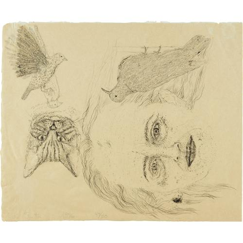 KIKI SMITH - Ginzer and the Birds, 1996