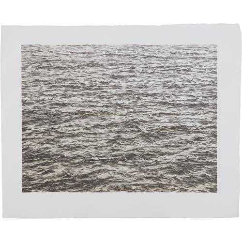VIJA CELMINS - Ocean, from Untitled Portfolio, 1975