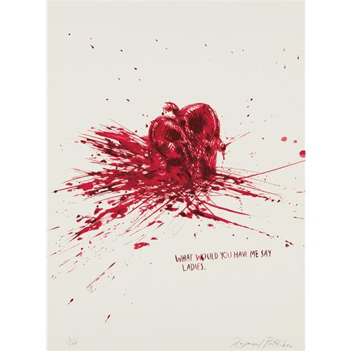 RAYMOND PETTIBON - Untitled (What Would You Have Me Say Ladies.), 2002