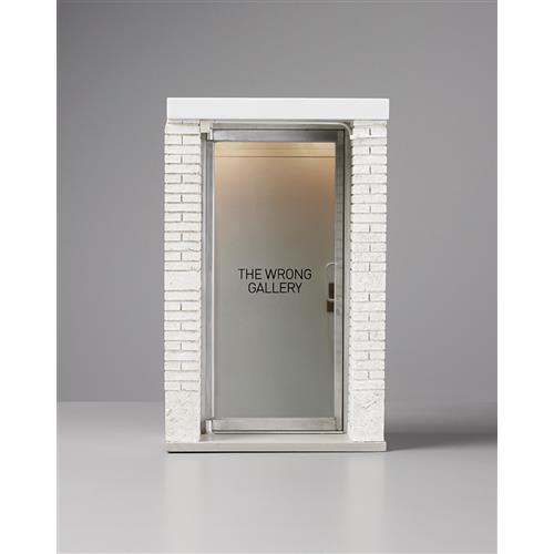 MAURIZIO CATTELAN - The 1:6 Scale Wrong Gallery, 2006