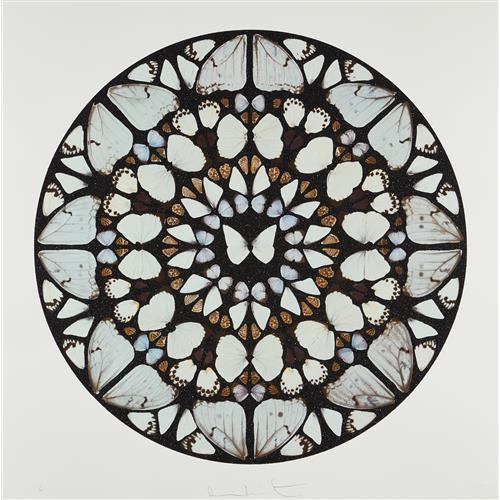 DAMIEN HIRST - Benedictus Dominus, from Psalm Prints, 2009