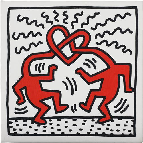 KEITH HARING - Untitled, 1989