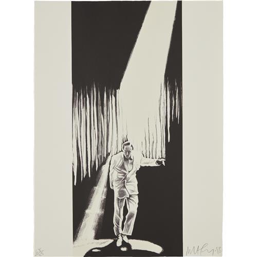 ROBERT LONGO - The Entertainer, from the Artists Portfolio, 1986