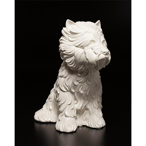 JEFF KOONS - Puppy Vase, 1998