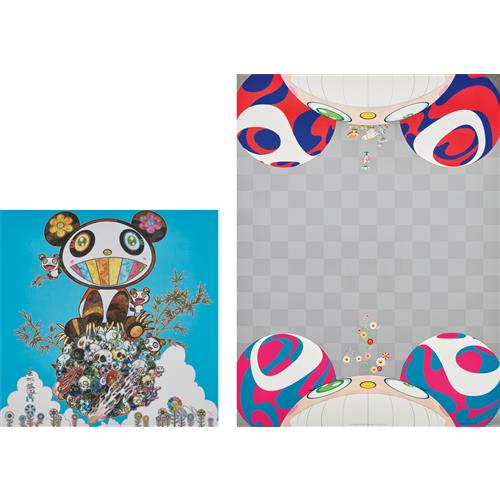 TAKASHI MURAKAMI - Family Happiness; and Flowers Have Bloomed, 2000 and 2014