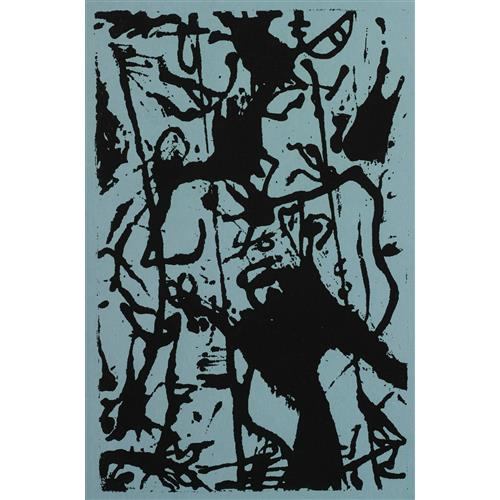 JACKSON POLLOCK - Untitled (M31), c. 1950