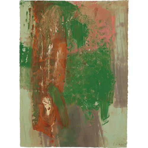 HELEN FRANKENTHALER - Autumn Series, 1977