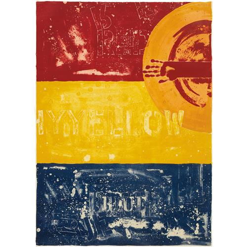 JASPER JOHNS - Periscope I, 1979