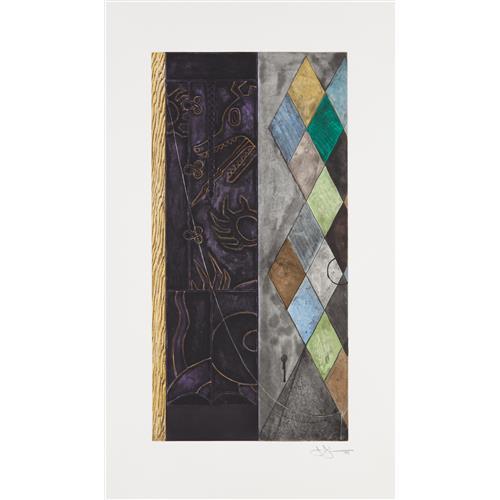 JASPER JOHNS - Untitled, 1999