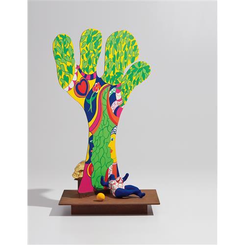 NIKI DE SAINT PHALLE - L'arbre de vie (The Tree of Life), from Mémorie de la Liberté suite, 1991