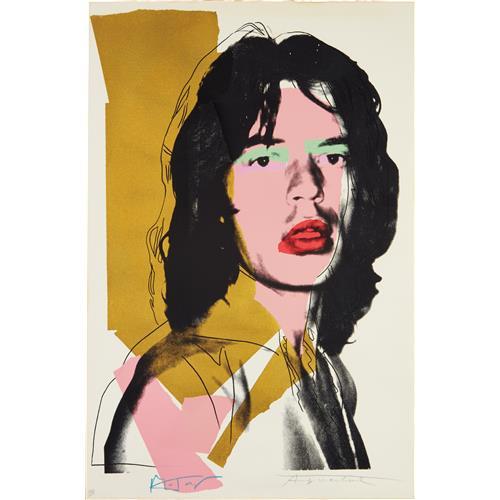 ANDY WARHOL - Mick Jagger, 1975