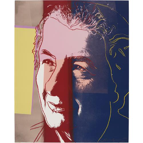 ANDY WARHOL - Golda Meir, from Ten Portraits of Jews of the Twentieth Century, 1980