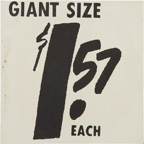 ANDY WARHOL - Giant Size, 1963