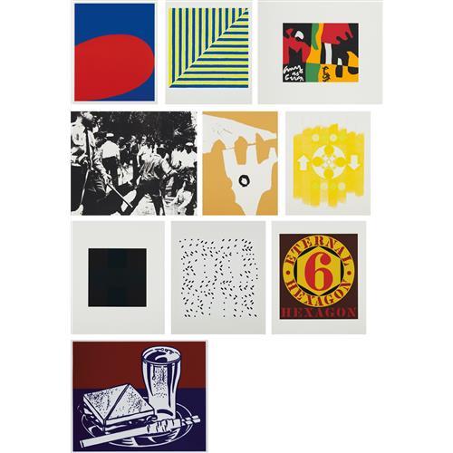VARIOUS ARTISTS - X + X (Ten Works by Ten Painters), 1964