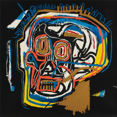 AFTER JEAN-MICHEL BASQUIAT - Head, from Portfolio I, 1983/2001