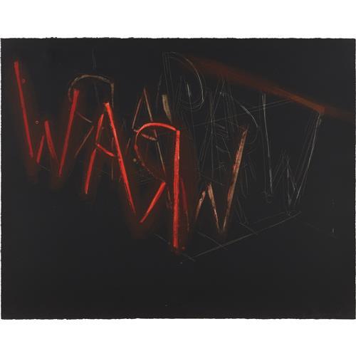 BRUCE NAUMAN - Raw-War, 1971