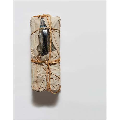 CHRISTO AND JEANNE-CLAUDE - Wrapped Payphone, 1988